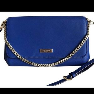 Kate Spade Newbury Lane Greer Blue Cross Body Bag